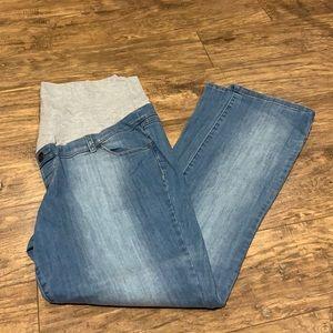 Thyme Maternity medium/light wash jeans